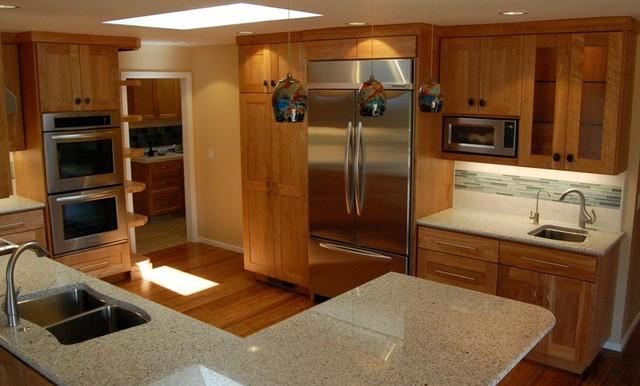 Mid Century Remodel midcentury-kitchen