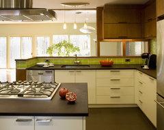 mid-century [re]modern modern-kitchen
