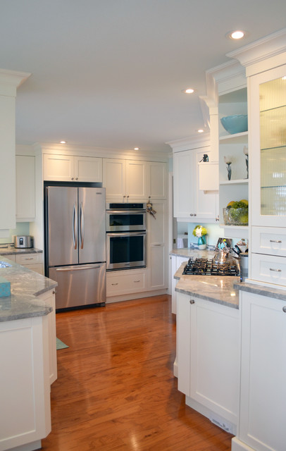 Mid Island Cabinets Custom Cabinetry transitional-kitchen