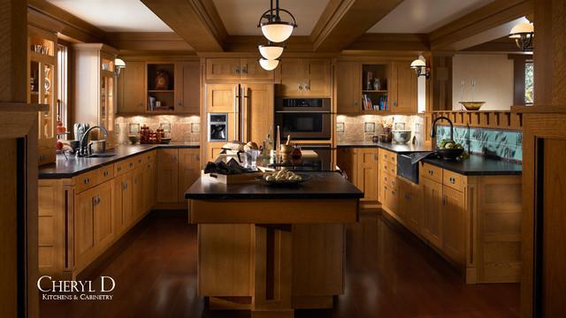 Mid-Price Range Kitchens traditional-kitchen