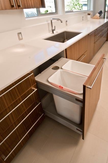 Mid Century Modern Kitchen Remodel - Midcentury - Kitchen - seattle - by BUILD LLC