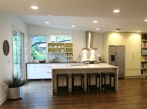 Brentwood Addition modern kitchen
