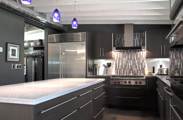 Sun View House midcentury-kitchen