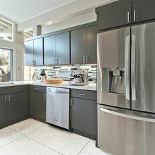 Midcentury Modern Kitchen in Forest Oaks