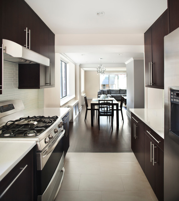 timber kitchen cabinets midtown duplex contemporary kitchen new york by 27193