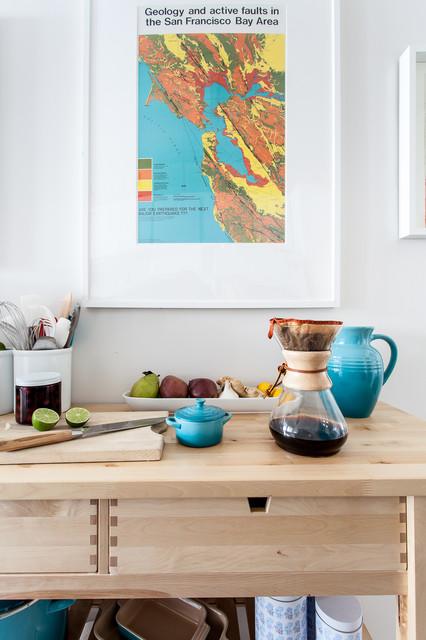 Midtown Sacramento modern-kitchen