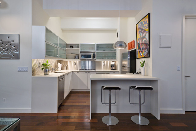 Midtown West Apartment - Contemporary - Kitchen - New York - by TODO DA