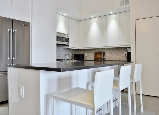 Midtown West Manhattan Kitchen Renovation - Modern - Kitchen - new york - by MyHome Design ...