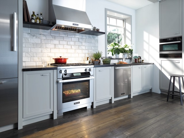Charming Miele Contemporary Kitchen