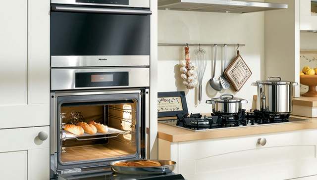 Miele oven traditional kitchen houston by k n sales - Miele kitchen cabinets ...