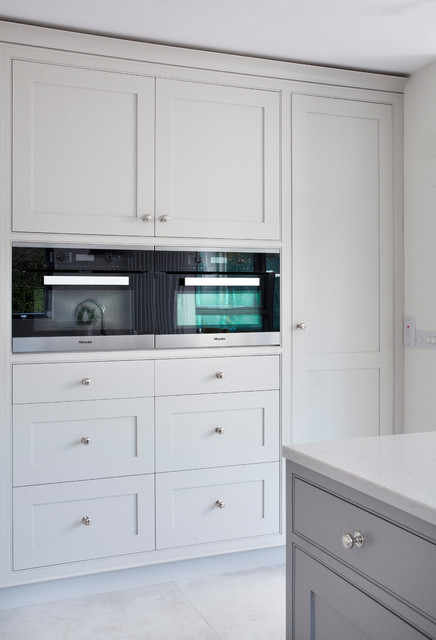 Miele ovens transitional kitchen dublin by woodale - Miele kitchen cabinets ...