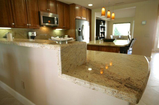 Mike and Julie's Contemporary Palm Desert Full Remodel traditional-kitchen