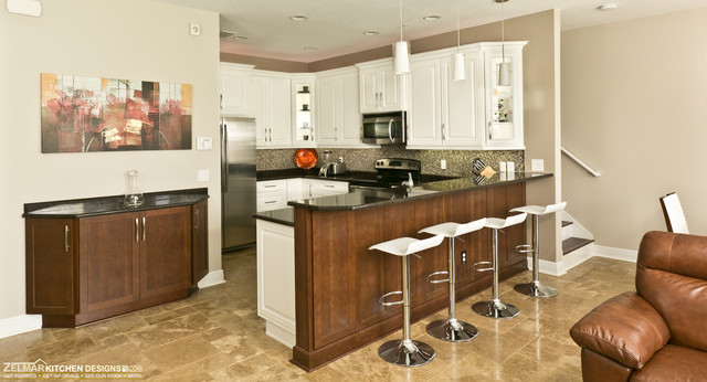 Milan Home Remodel Project contemporary-kitchen