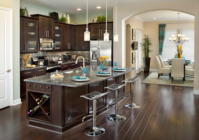 Milano - Traditional - Kitchen - Orlando - by David Weekley Homes