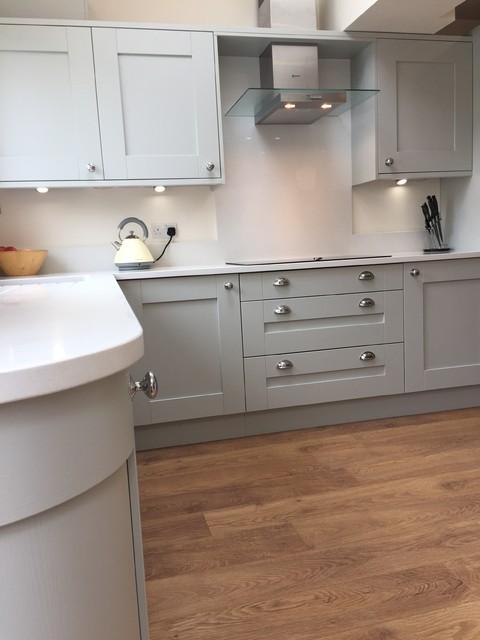 Milbourne Partridge Grey Stone Kitchen Shaker Modern