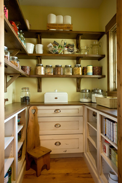 Custom butler 39 s pantry inspiration and plans the project for Kitchen pantry plans