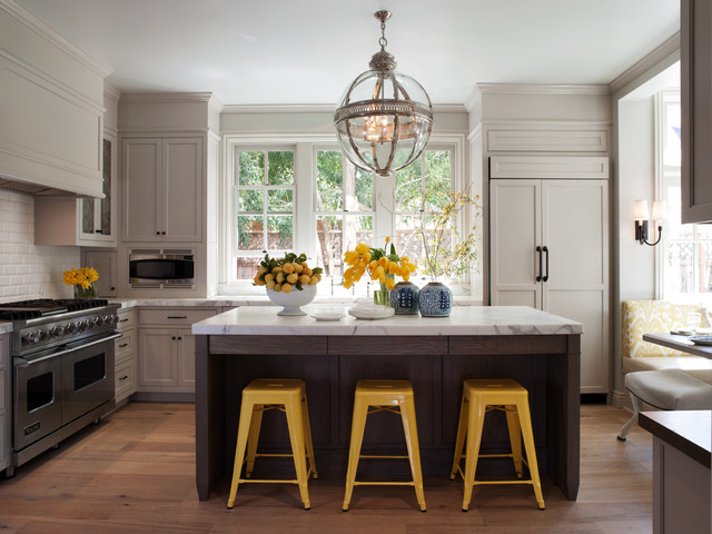 Mill Valley Classic Cottage - traditional - kitchen - san ...