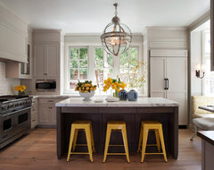 Mill Valley Classic Cottage transitional-kitchen