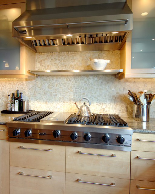 Mill Valley Contemporary Home traditional-kitchen