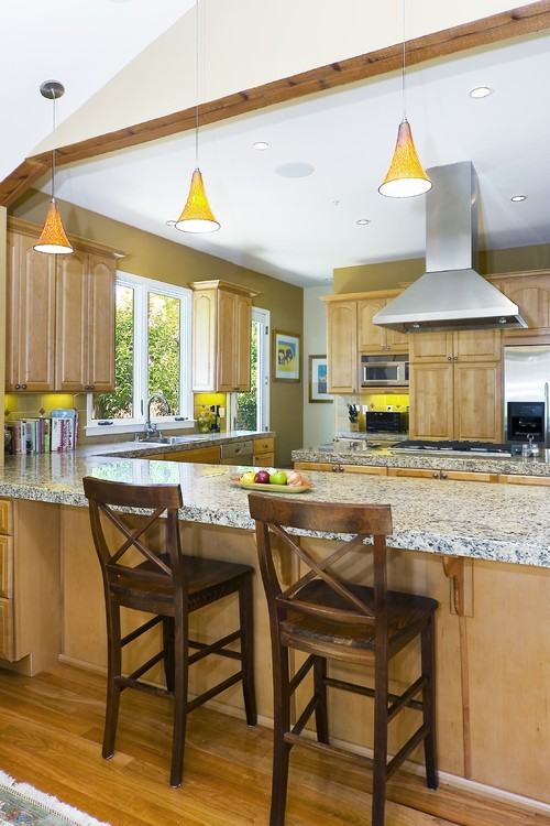Mill Valley Family Home eclectic kitchen
