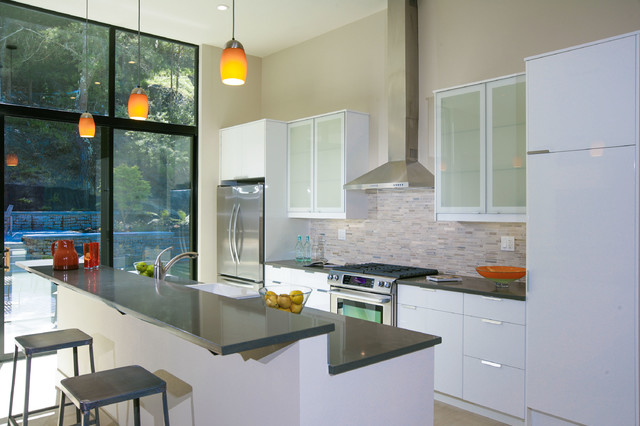 Mill Valley- Loft meets Ranch contemporary-kitchen