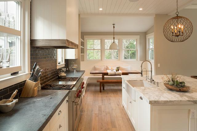Mill Valley Remodel - Farmhouse - Kitchen - San Francisco ...