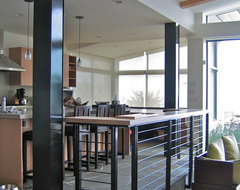 Miller Beach House contemporary-kitchen