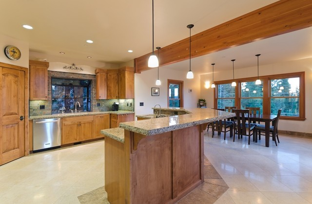Miller Residence traditional-kitchen