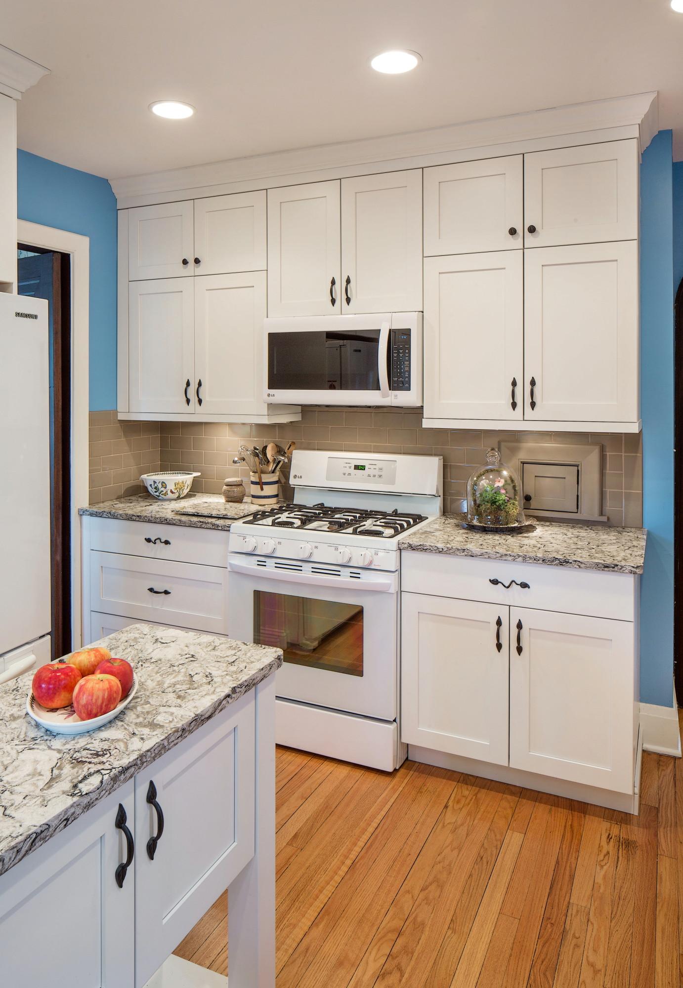 Miller White Kitchen