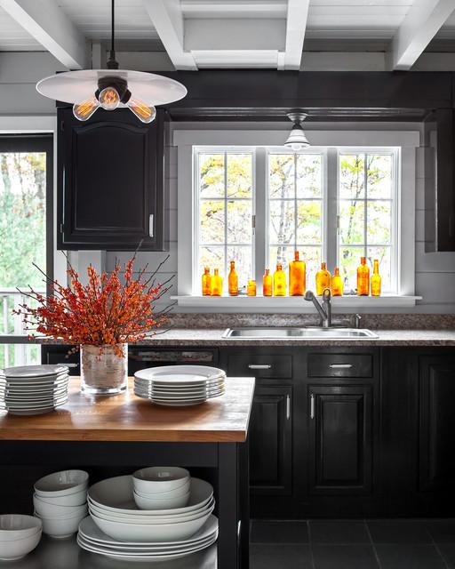 Millerton, NY Country Home farmhouse-kitchen