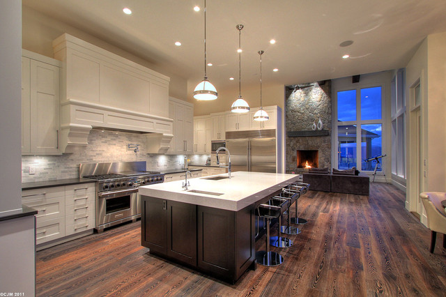 Millikan Residence traditional-kitchen