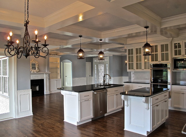 Million dollar look in 2 400 sf traditional kitchen for Million dollar kitchen designs