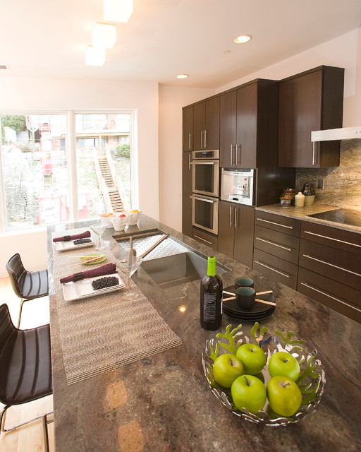 Contemporary Kitchen Vs Modern Kitchen: Million Dollar Modern Condo