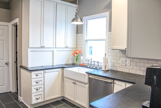 Millsbrae Kitchen Remodel farmhouse-kitchen