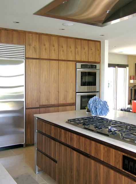 Millwork makeover modern kitchen kansas city by for Kitchen design kansas city