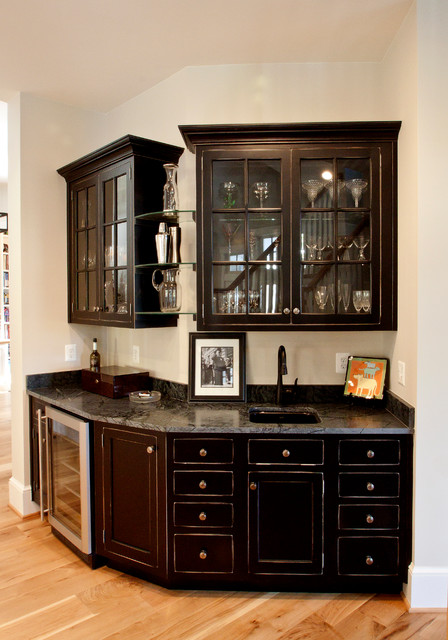Milne Bar Area Traditional Kitchen Dc Metro By