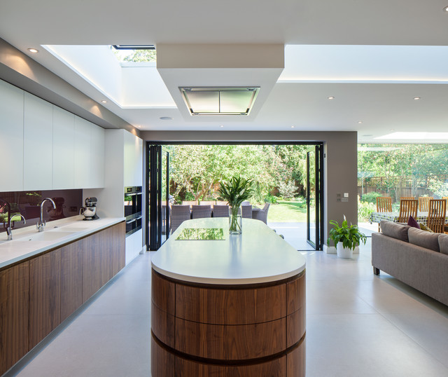 Milnthorpe contemporary kitchen london by coupdeville for Modern kitchen london