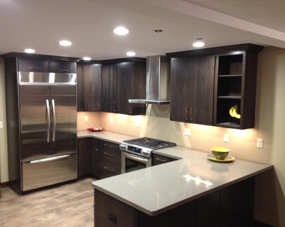 Milwaukee Modern Kitchen Remodel - Modern - Kitchen ...