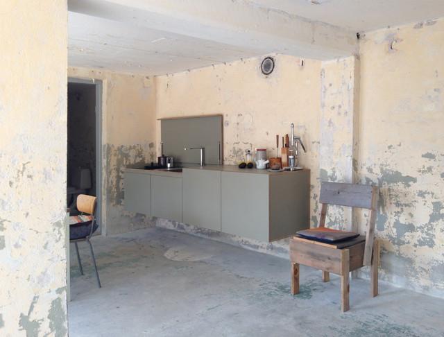 Elegant Industrial Küche By Miniki