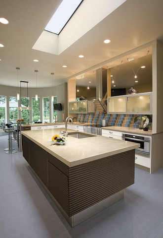 Minimalist Contemporary kitchen contemporary-kitchen