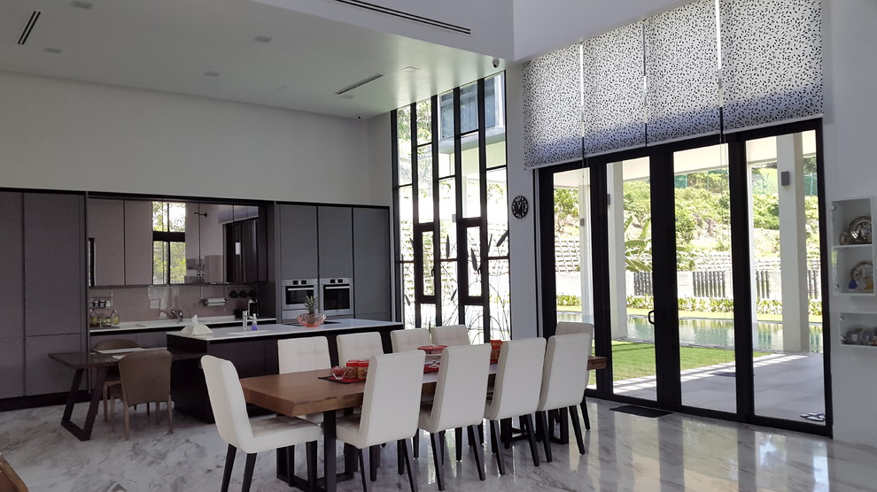 Minimalist Home in Malaysia - Modern - Kitchen - Other