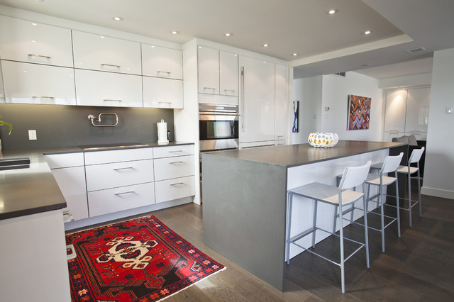 Inspiration For An Eclectic Kitchen Remodel In Toronto With Quartz  Countertops