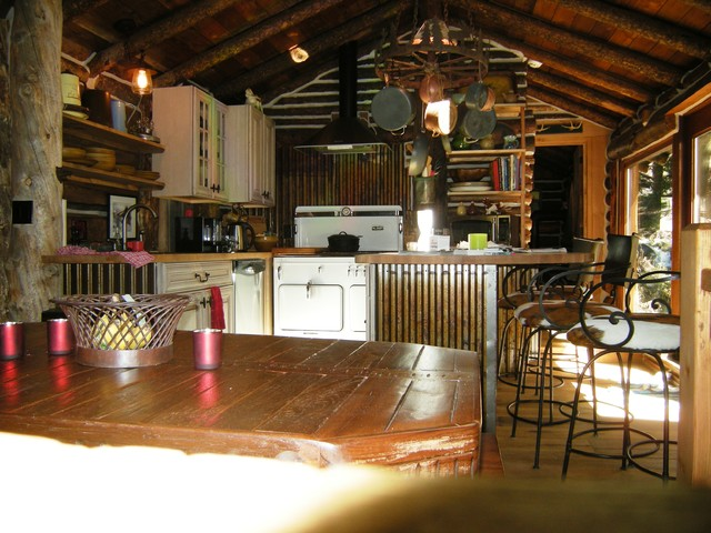 Mining cabin Addition and Remodel rustic