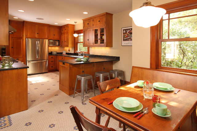 Minneapolis Bungalow - Craftsman - Kitchen - minneapolis - by w.b. builders