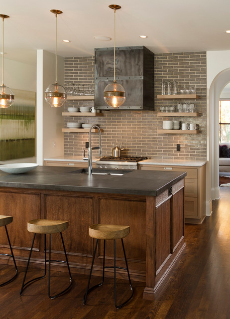 Minneapolis modern tudor transitional kitchen minneapolis by w b builders - Kitchen design minneapolis ...