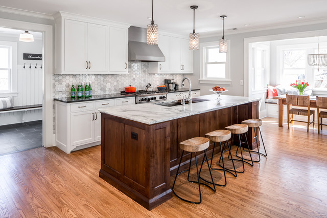 Minneapolis traditional traditional kitchen minneapolis by quartersawn design build - Kitchen design minneapolis ...