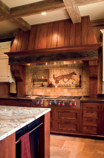 Minnesota Roots Rustic Kitchen Design Build In Plato Mn Rustic Kitchen Minneapolis By