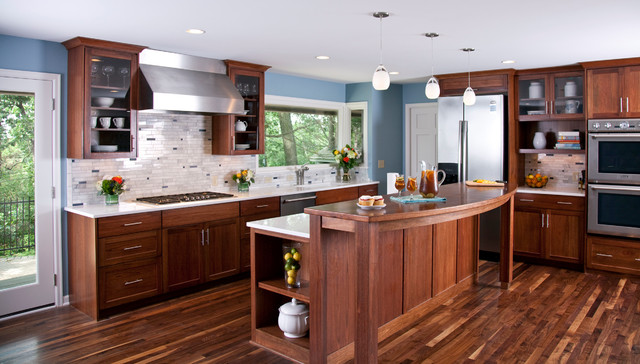 Minnetonka Remodel contemporary-kitchen