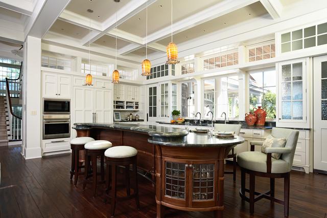 Minnetonka Shingle-Style traditional-kitchen