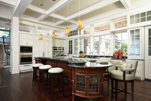 Ceiling height transoms and door for Ceiling height kitchen cabinets